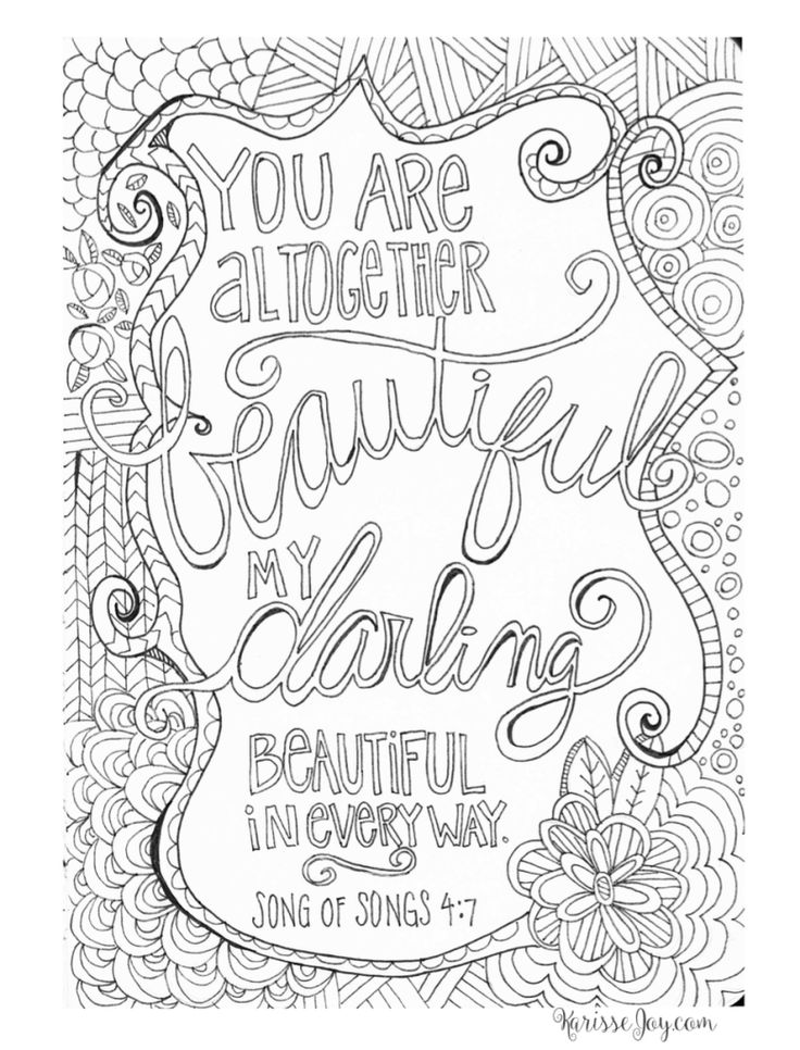 coloring pages for adults christian