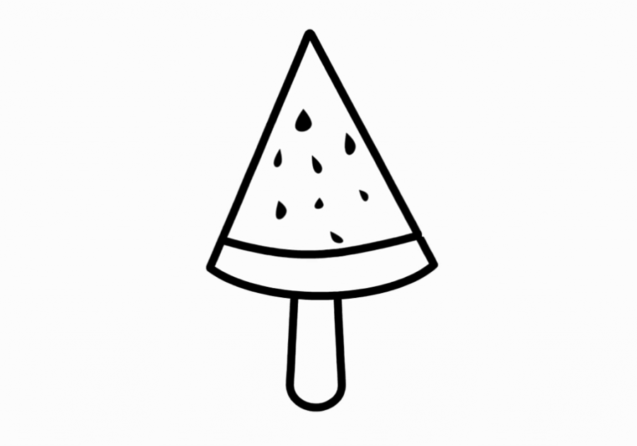 coloring pages for ba coloring for kids with watermelon