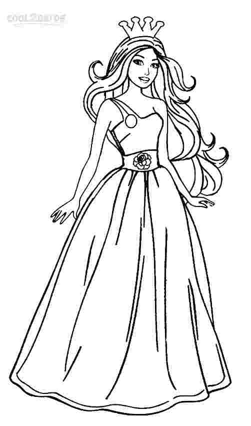 coloring pages for barbie coloring pages barbie free