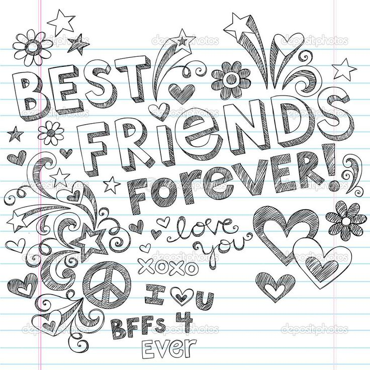 coloring pages for bff