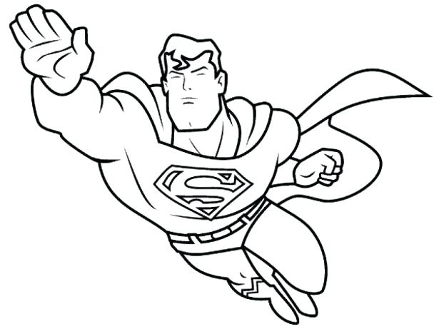 coloring pages for boys superheroes at getdrawings