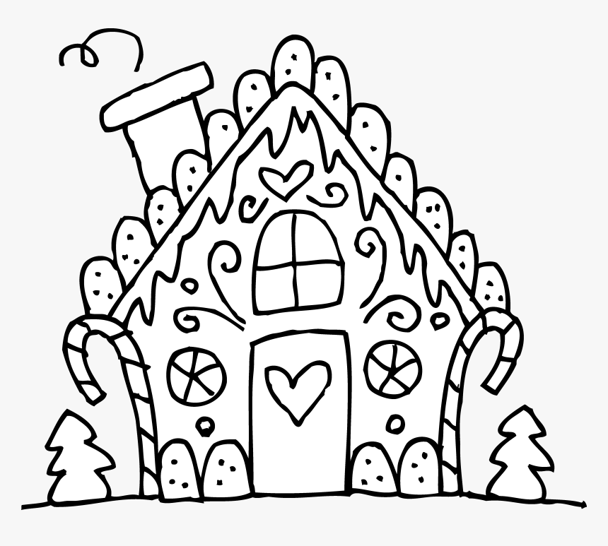 coloring pages gingerbread house coloring book cute