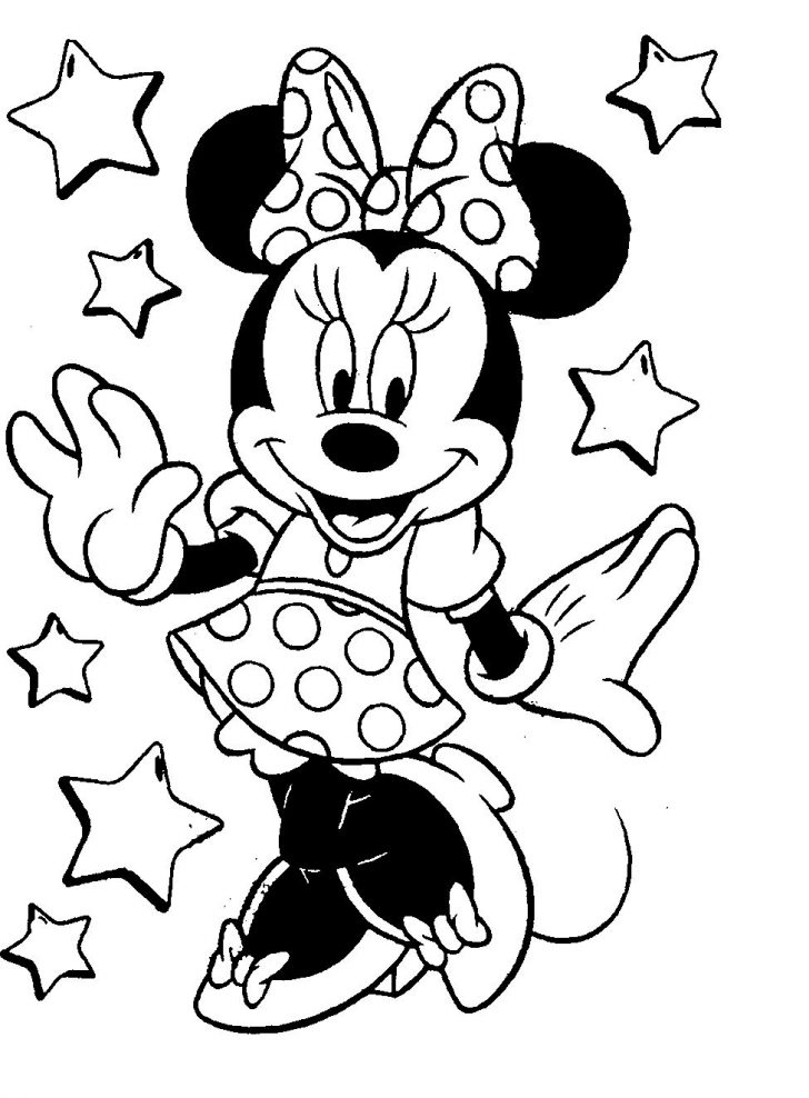 coloring pages ideas 100 minnie coloring pages image