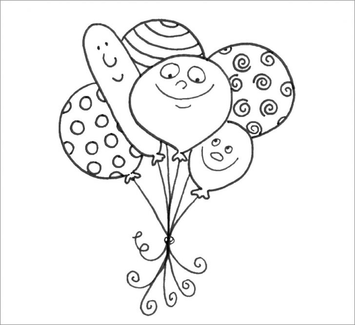 coloring pages ideas 97 outstanding balloon coloring pages