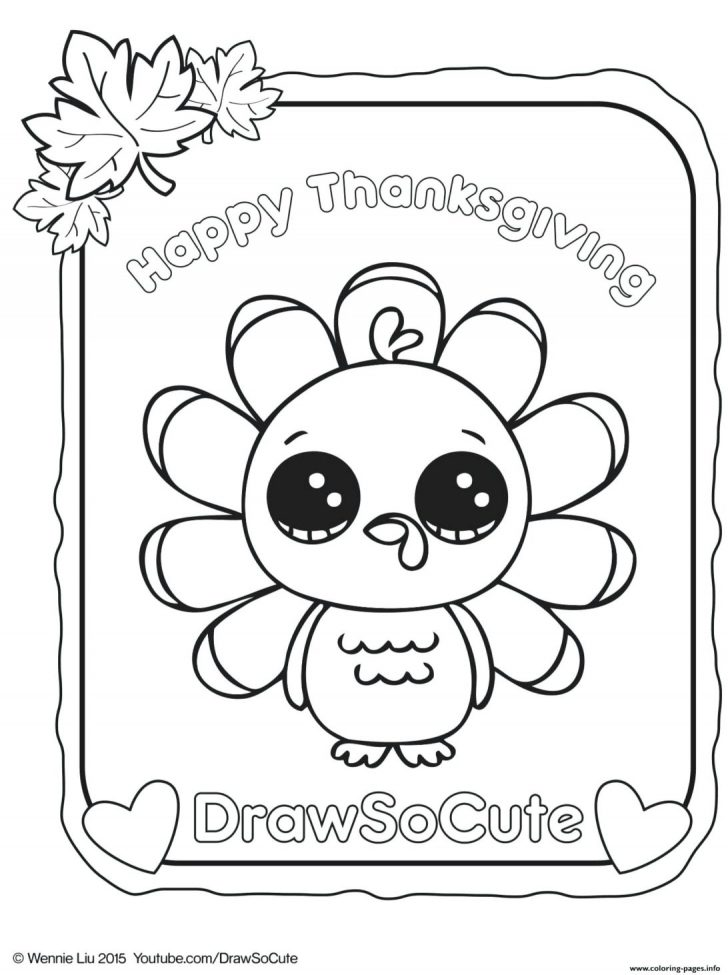 coloring pages ideas 97 staggering cute thanksgiving