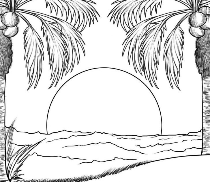 coloring pages ideas 98 amazing sunset coloring pages free