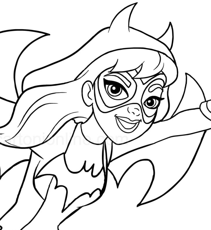 coloring pages ideas 99 excelent batgirl coloring pages