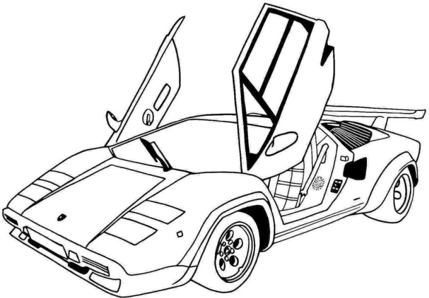 coloring pages ideas best coloring car pages ferrari 599xx