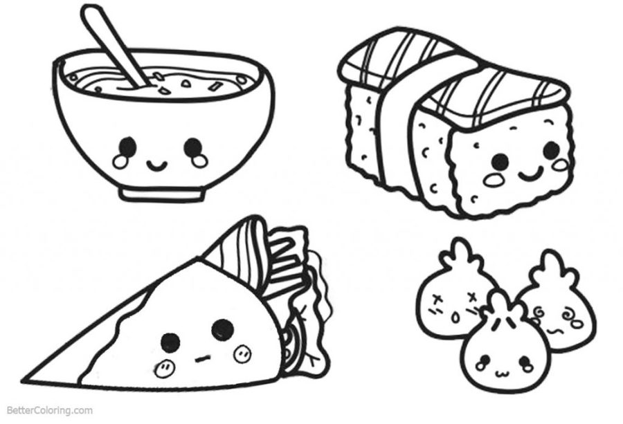 coloring pages ideas draw so cute foodoring pages cup of