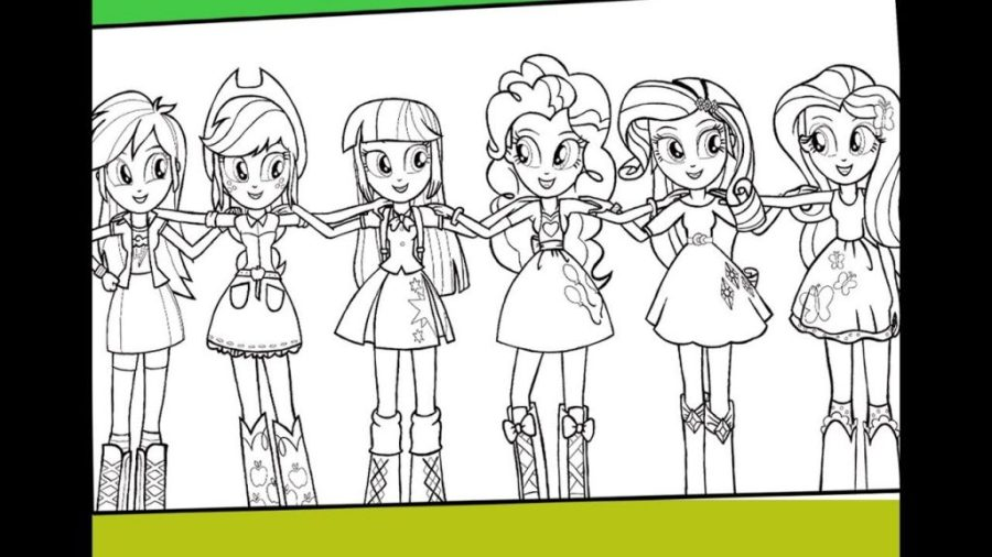coloring pages ideas equestria girls coloring