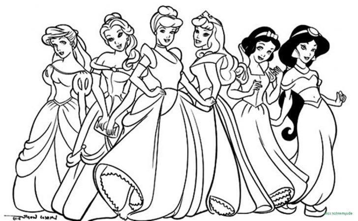 coloring pages ideas fabulous princess coloring sheets