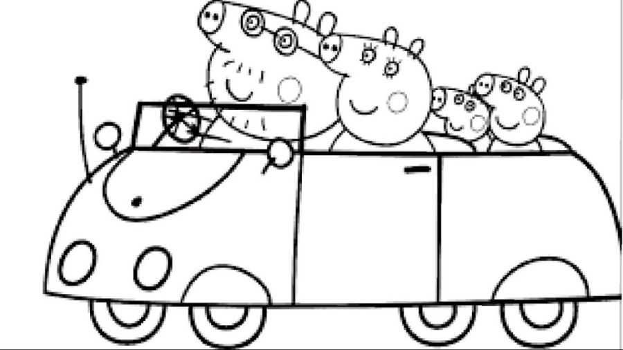 coloring pages ideas free peppa pig colouring sheets