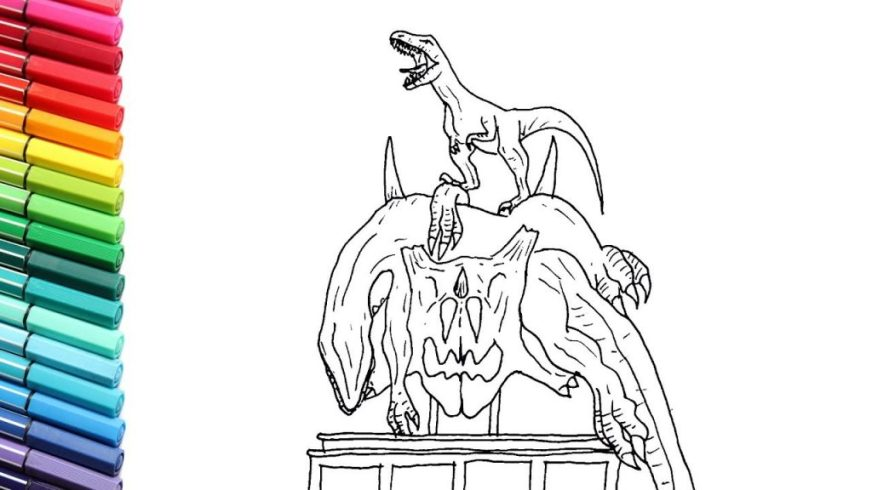 coloring pages ideas maxresdefault indoraptor coloring
