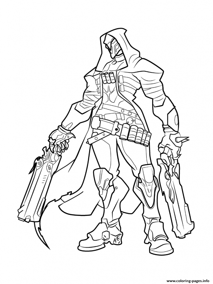 coloring pages ideas overwatch coloring pages free