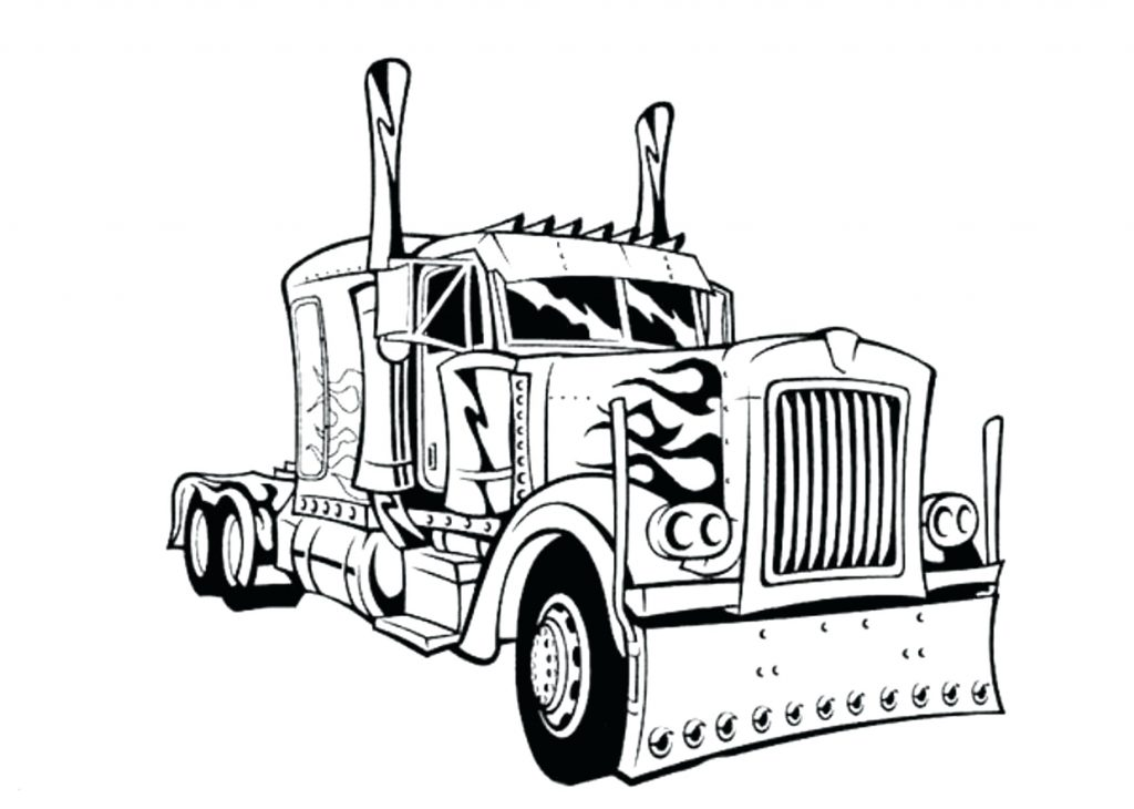 Truck Coloring Pages Gallery Whitesbelfast