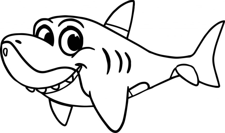 coloring pages ideas stunning ba shark coloring pages