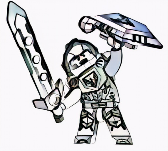 coloring pages knights incredible nexo knights coloring