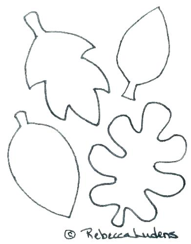 coloring pages leaves colouring autumn fall tesopro