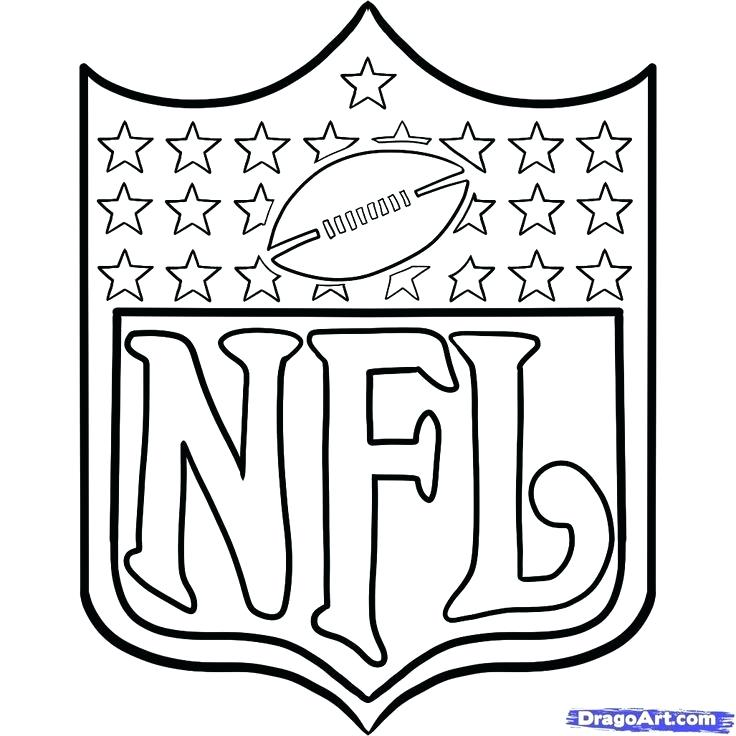 coloring pages nfl