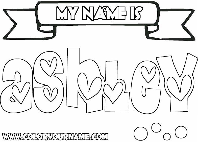 coloring pages of girls names girl names index