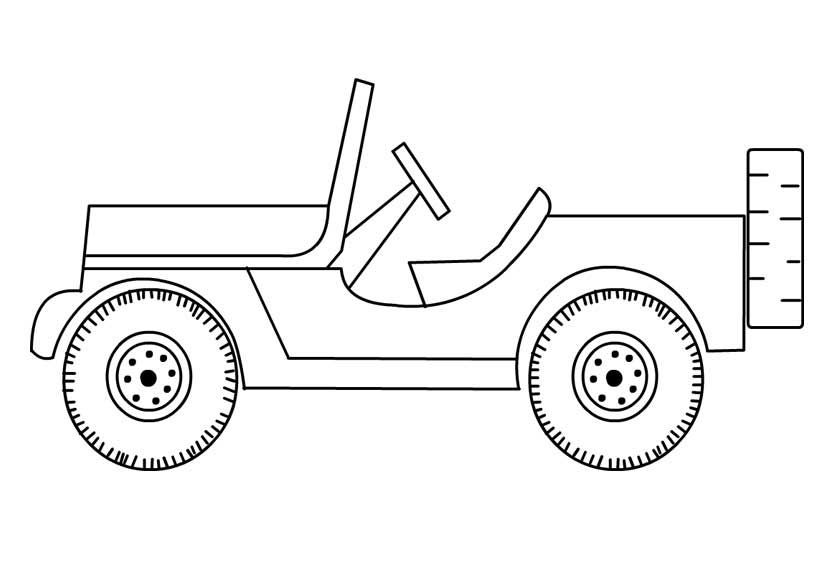 coloring pages of jeep coloring pages to print coloring