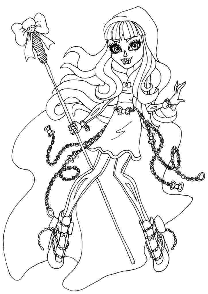 coloring pages of monster high monster high coloring pages