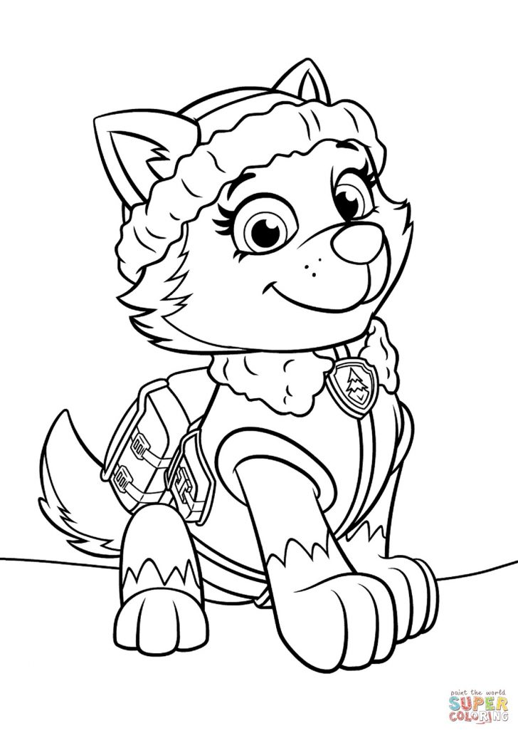 coloring pages paw patrol birthday coloring pages unique
