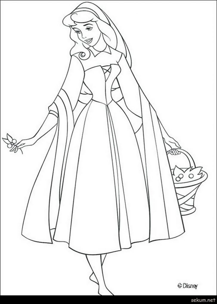 coloring pages princess aurora coloring pages free morphia