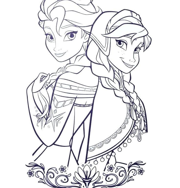 coloring pages princesses disney
