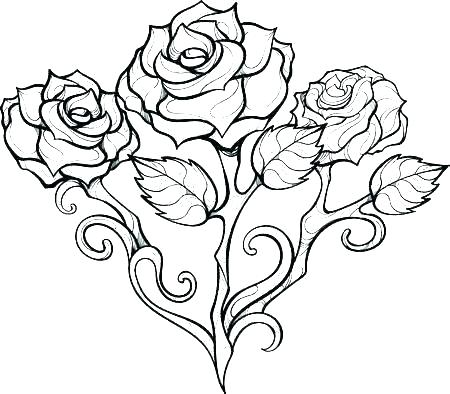 coloring pages roses teless