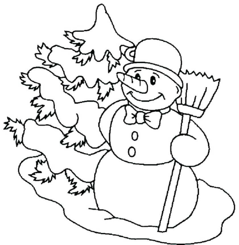 coloring pages snowman free printable snowman coloring pages