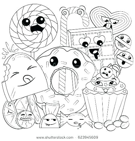 coloring pages to print of food pusat hobi
