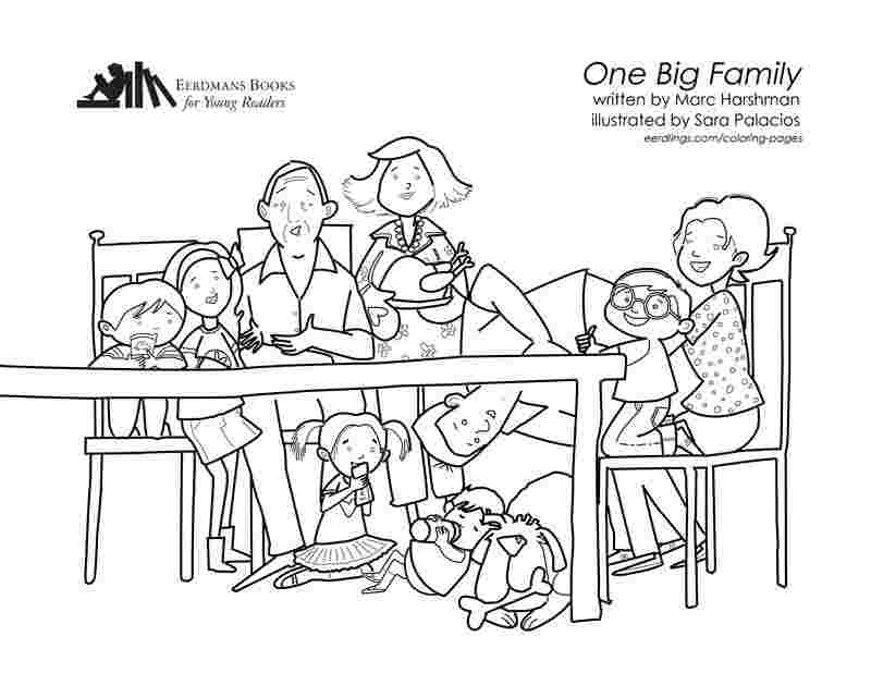 coloring pages with family family coloring pages