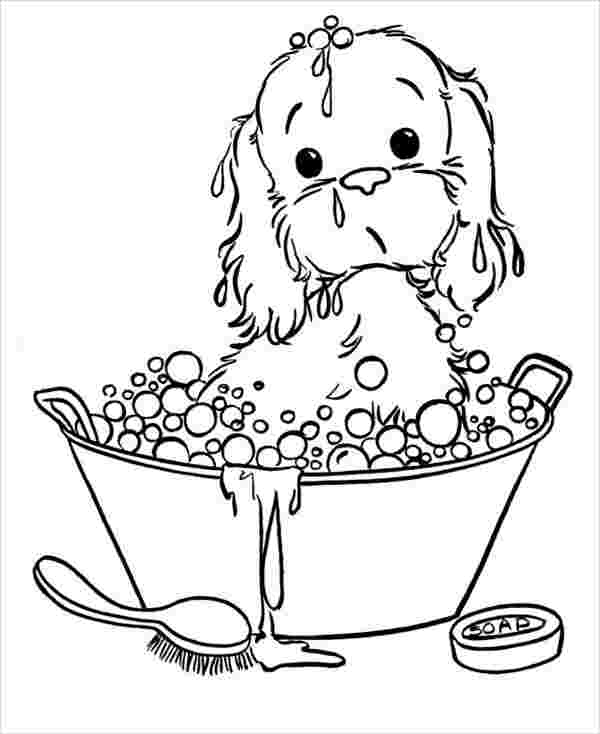 coloring pages with puppies cute puppy coloring pages for