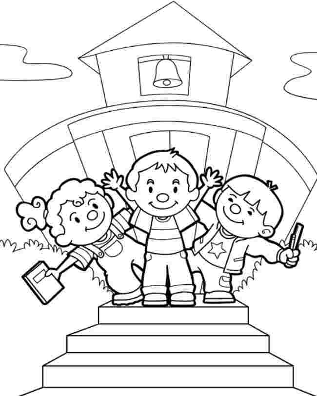 coloring school coloring pages coloring page of a school