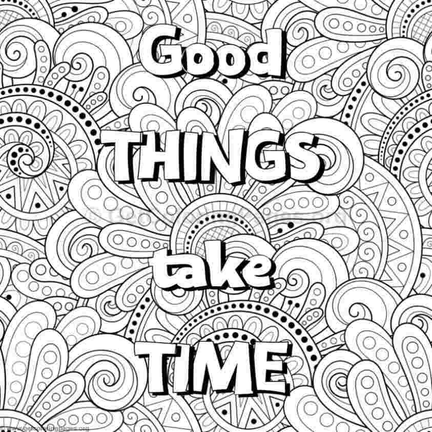 coloring sheets inspirational quotes inspirational word