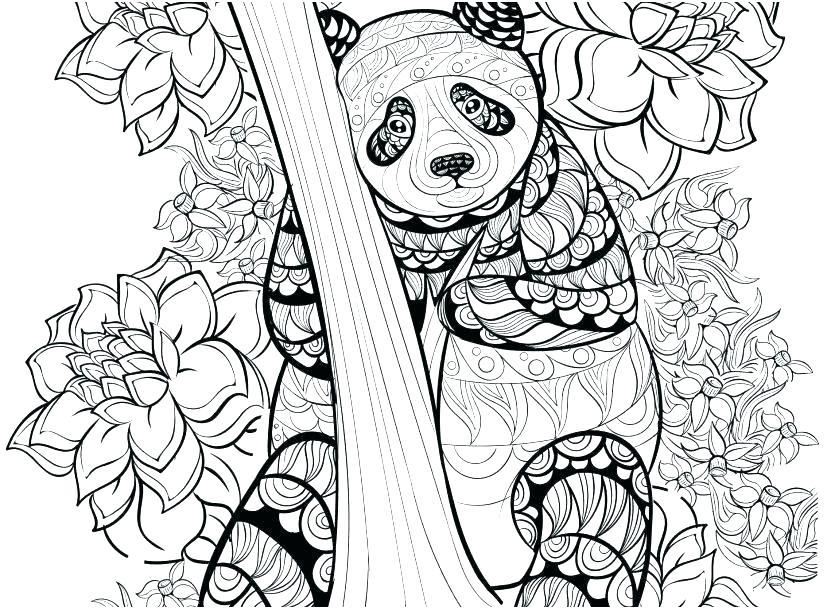 coloring sheets printable panda pusat hobi