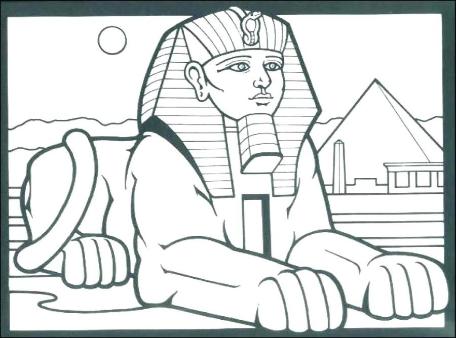 colouring pages egypt pusat hobi