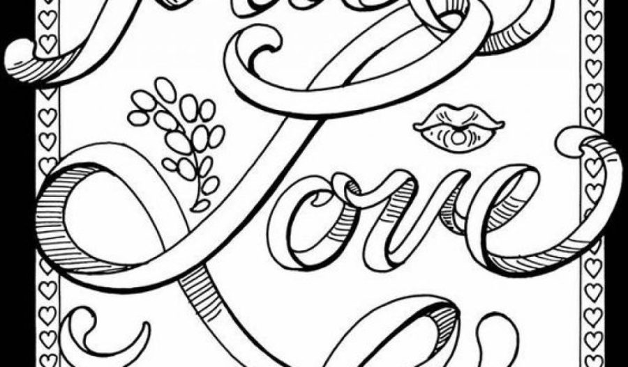 colouring pages for adults swear words pusat hobi