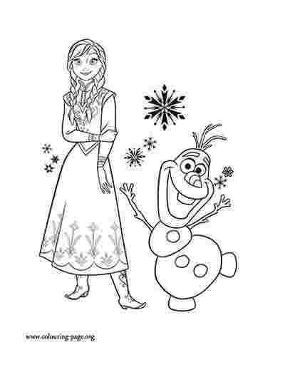 Anna Coloring Pages Picture Whitesbelfast