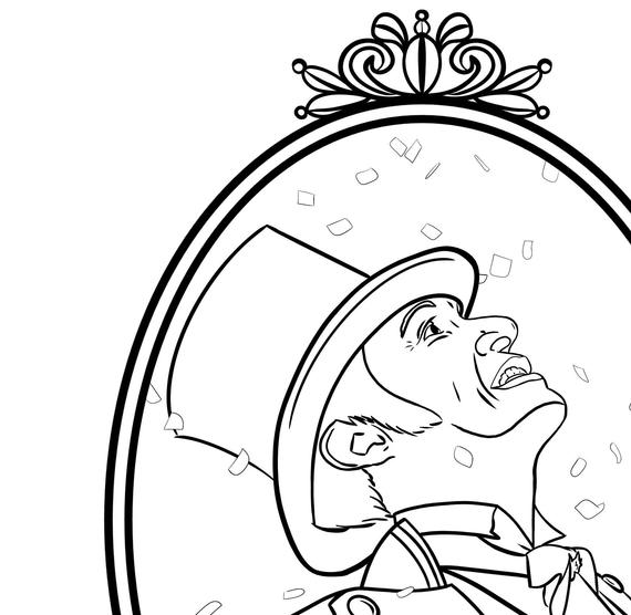 colouring pages greatest showman pusat hobi