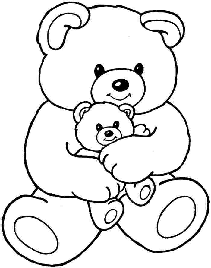 colouring pages of teddy bears teddy bear coloring pages for