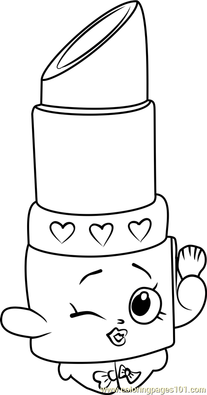 colouring pages shopkins pusat hobi