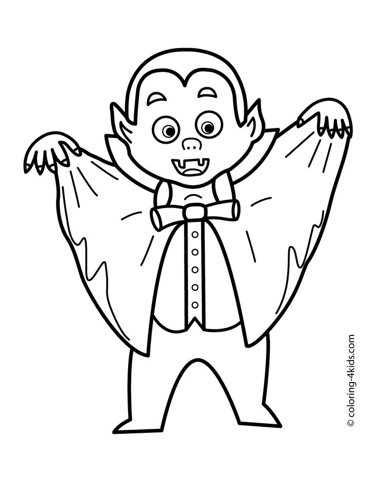 colouring pages vampire pusat hobi