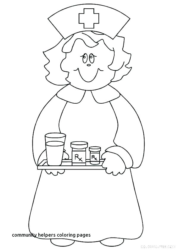 community coloring page printable worksheets for
