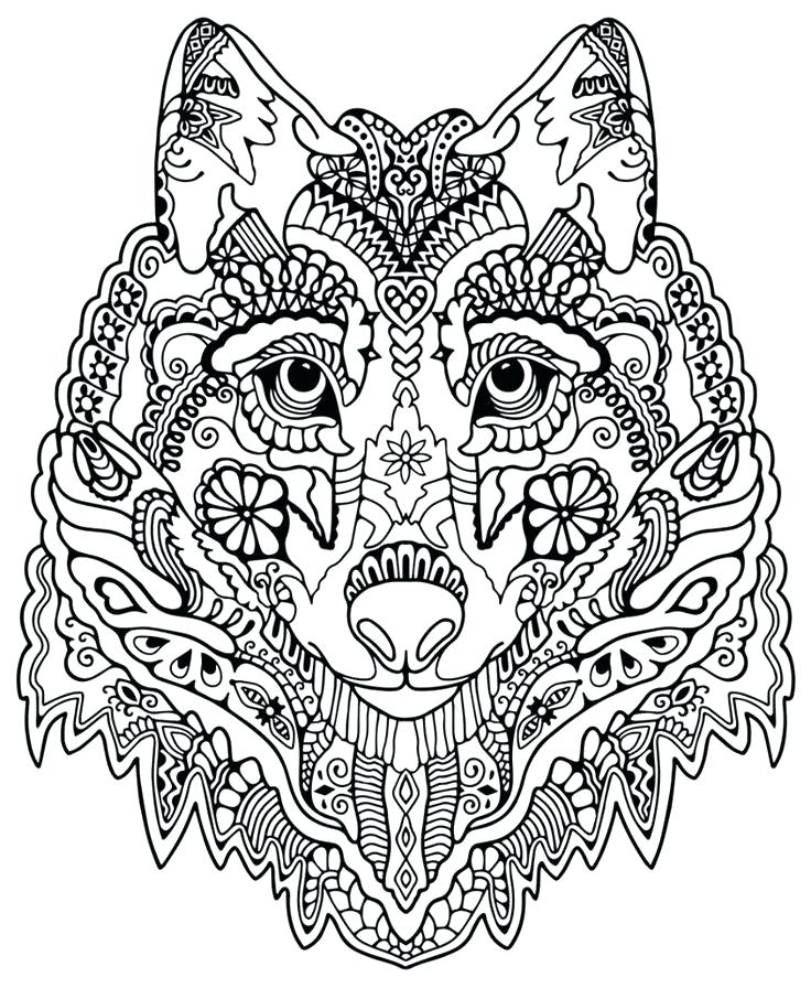 complex coloring pages for kids at getdrawings free