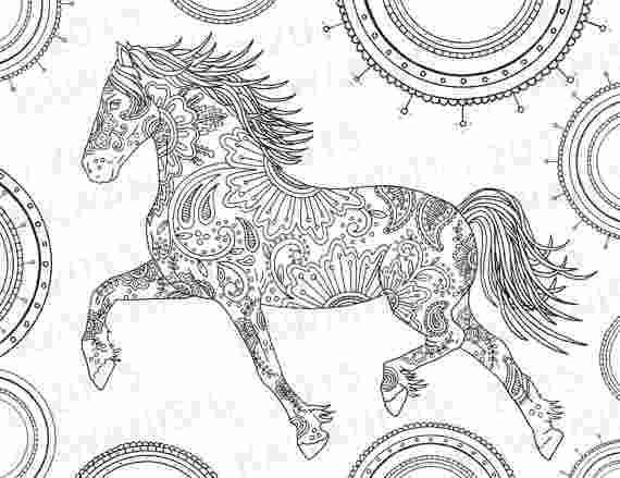 complicated horse coloring pages kaigobank