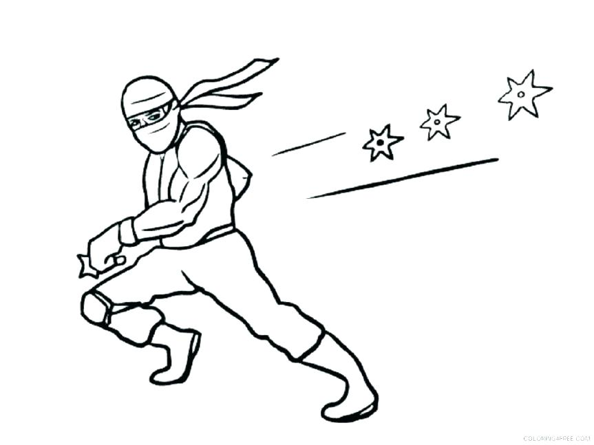 cool ninja coloring pages at getdrawings free for
