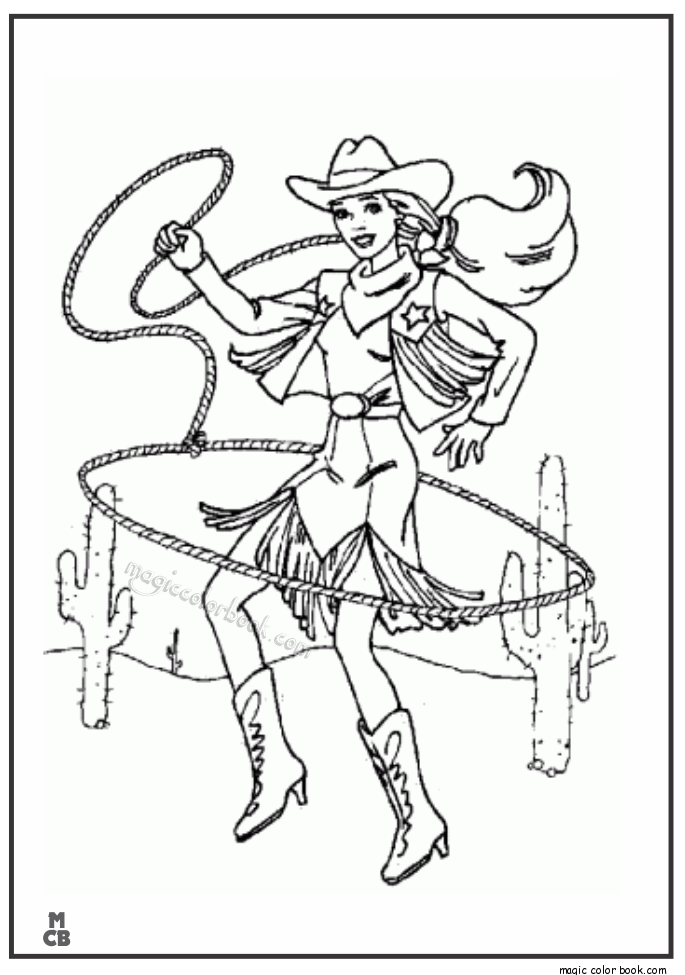 cowgirl cowboy coloring pages clip art library
