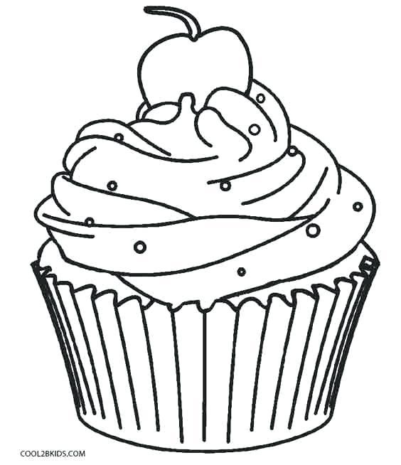 cupcakes coloring pages free cupcake printable bonzinhoclub